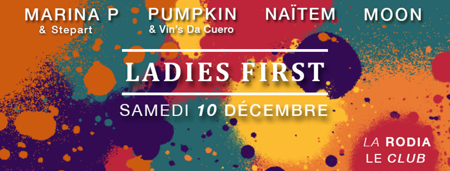 Couverture Ladies First