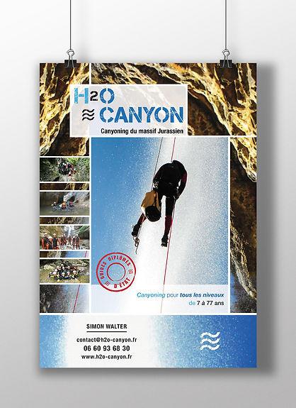 Affiche H2O Canyon
