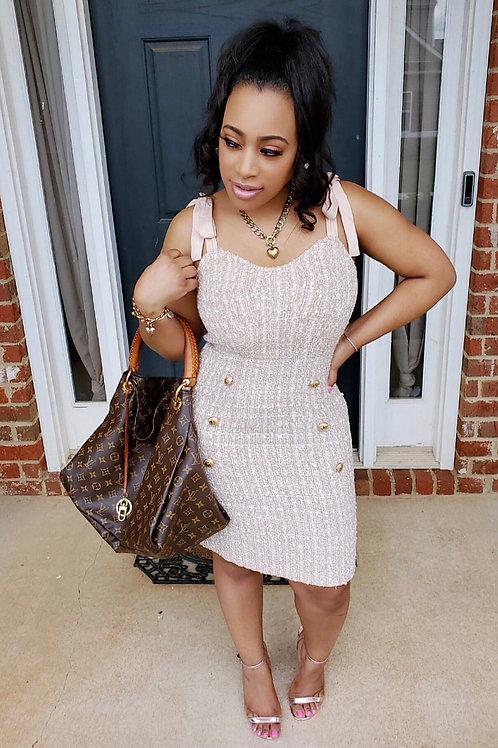 Clueless Tweed Dress