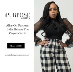 Today's Purpose Woman Feature