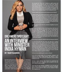 K.I.S.H. Magazine Interview Sept.
