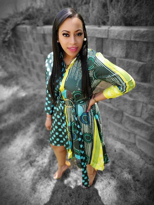Polka Lime Dress