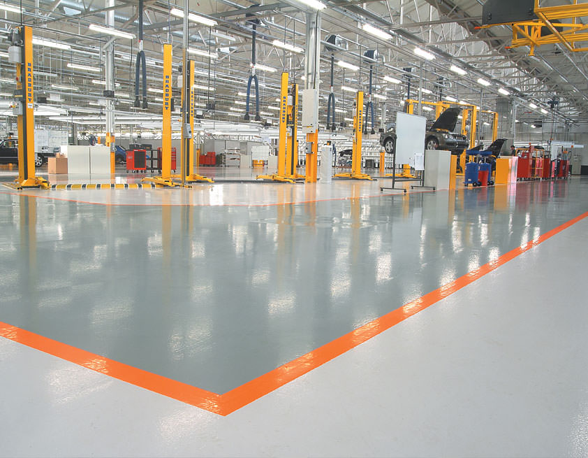 INDUSTRIAL FLOORING CONTRACTORS IN JORDAN