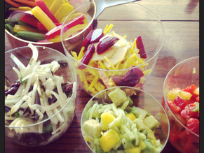 FRESH FRUIT AND VEGETABLE SALSAS