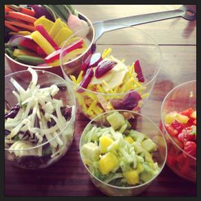 FRESH FRUIT AND VEGETABLE SALSAS