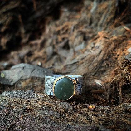 The Fern + Jade Ring