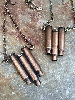The Triple Bullet Chevron Necklace