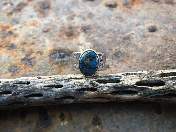 The Elk + Turquoise Skull Ring