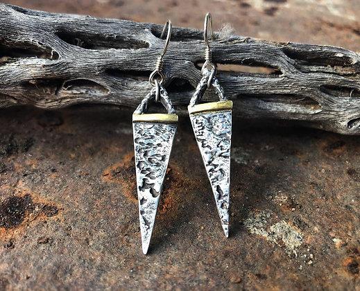 The Elk Skull Spear Earrings