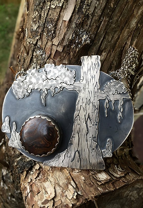 The Bald Cypress Tree Necklace (OOAK)