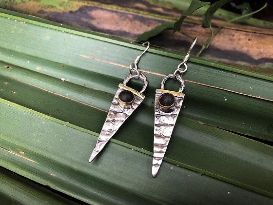 The Alligator + Cypress Spear Earrings