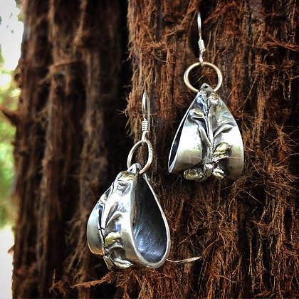 The Redwood Eclipse Earrings