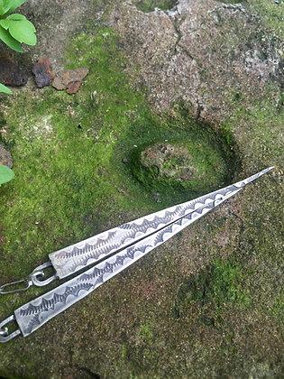 The Sterling Spear Earrings