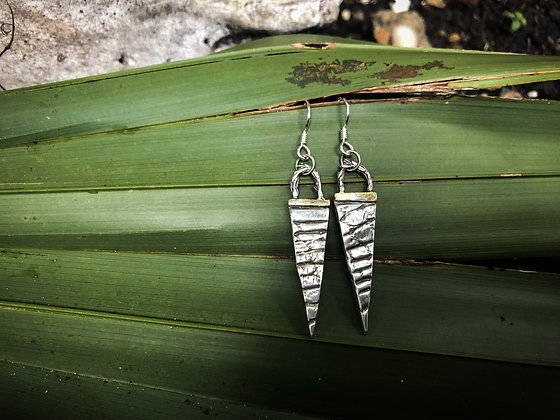 The Alligator Spear Earrings