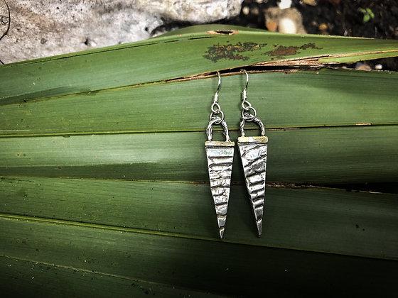 The Alligator Spear Earrings