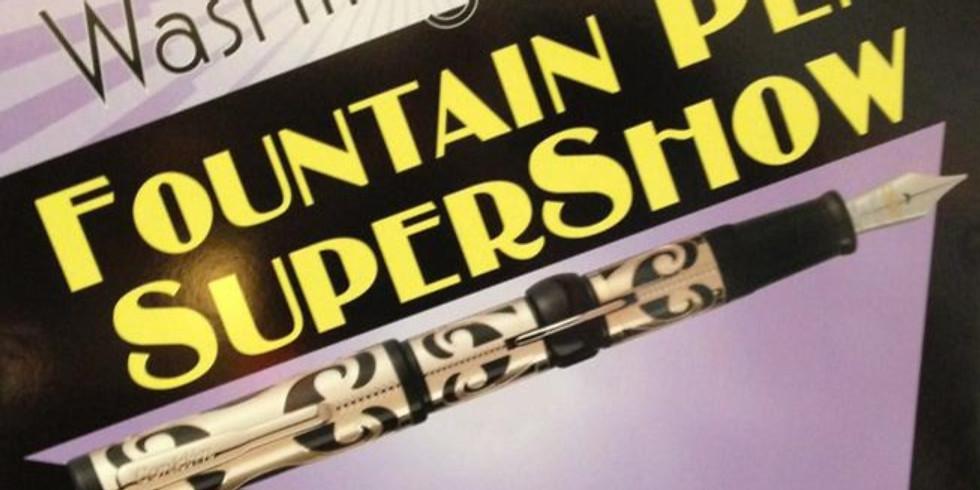 2021 Washington DC Fountain Pen SUPERSHOW