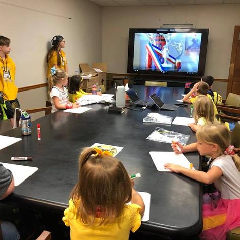 Learning at KidVid!
