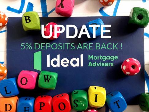 5% Deposit update!