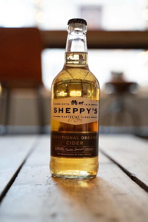 Sheppy's Traditional Organic Cider
