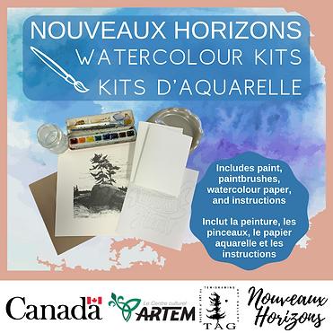 Watercolour Kits D'Aquarelle Nouveaux Ho