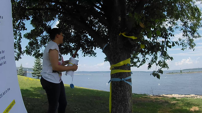 Get involved with the Temiskaming Art Gallery's Tree project for this year's Art in the Park!