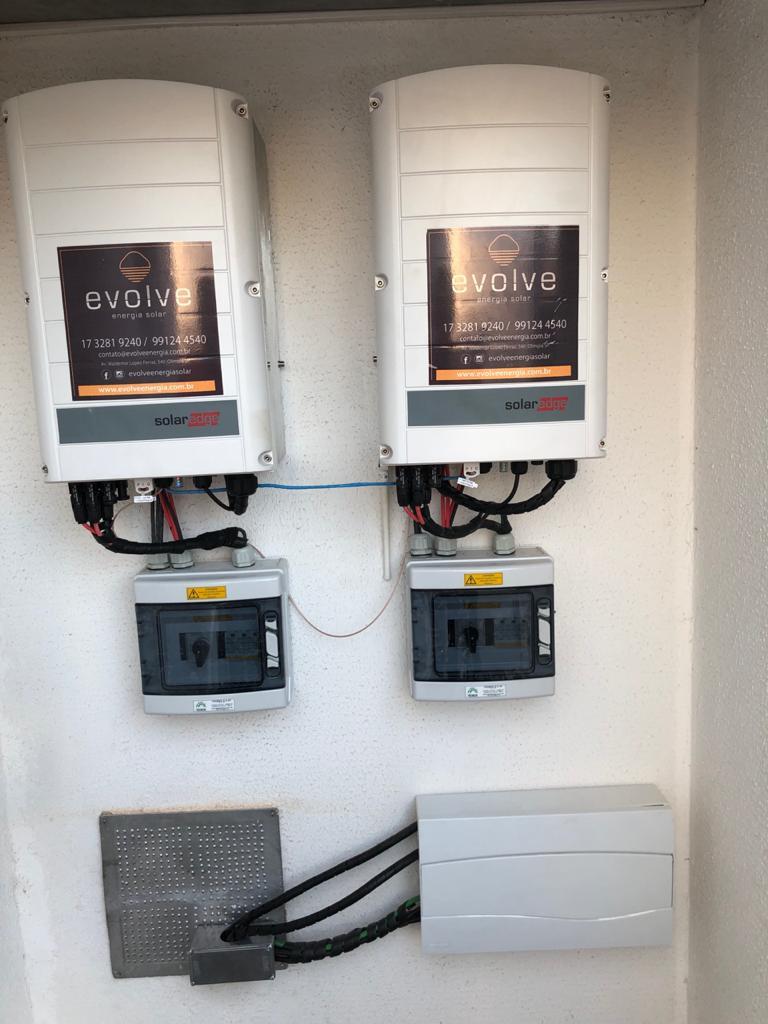 Inversores SolarEdge 27,6kWp WIZARD Olímpia.