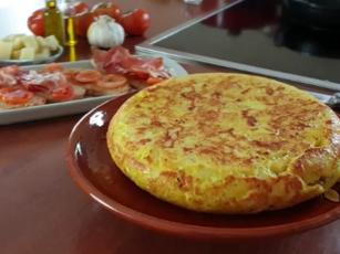 Spanisches Kartoffelomelett bei CANANS REZEPTE