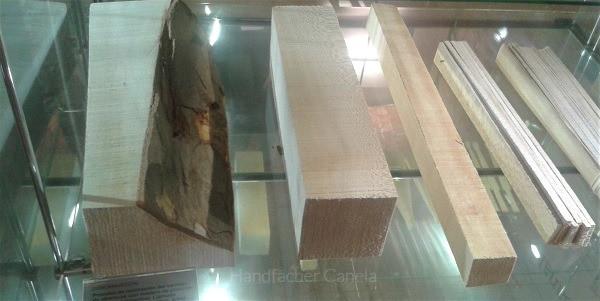 Bauklötzchen um Fächergestell zu machen