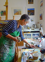 Rebecca Barnard British contemporary landscape artist