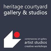 Heritage logo INVERTED for square hangin