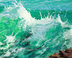 Wave by Rebecca Barnard