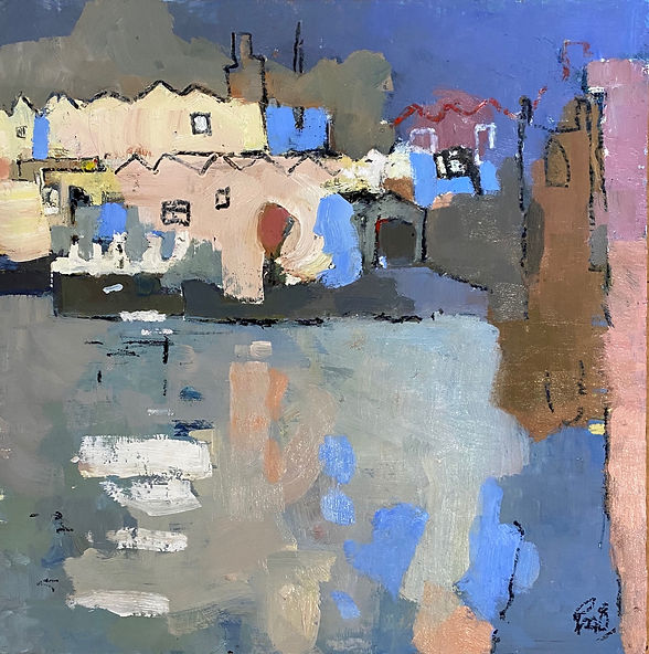 St Ives Reflections by Rebecca Barnard.j