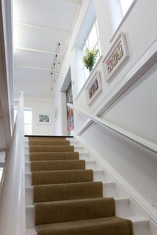 Studio Stairs, Wells, Somerset