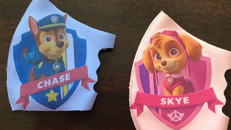 Custom made Poly-Blend children fashion mask