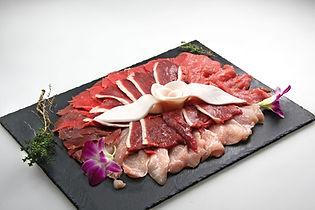 pierrade meat plate