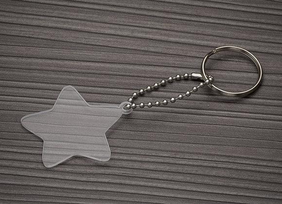 AF13278 Chaveiro Plástico Estrela