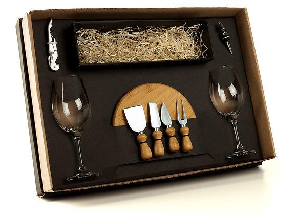 AF90007 Kit Queijo E Vinho