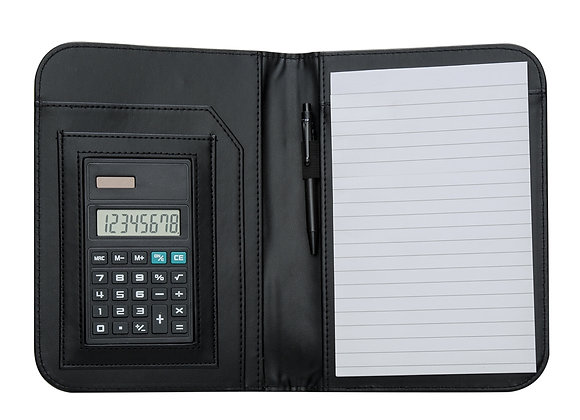 AF1610 Bloco de Anotações com Calculadora e Caneta