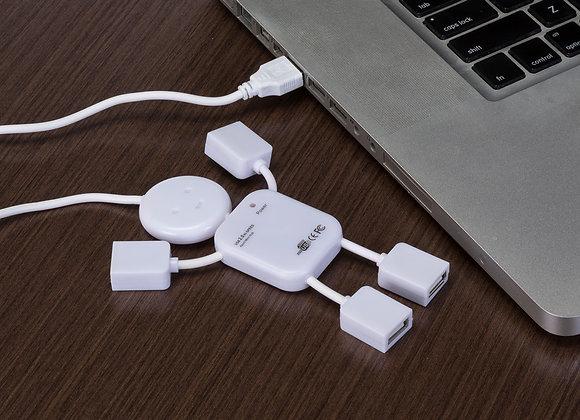AF12031 Hub Boneco com 4 Entradas USB