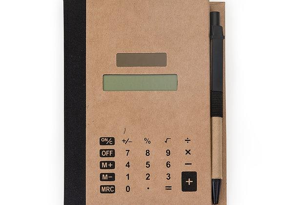 AF12737 Bloco de Anotações com Post-it e Calculadora