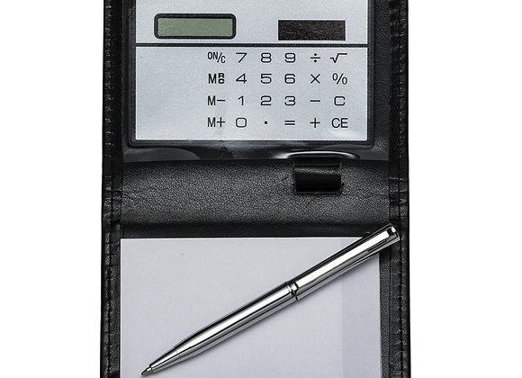AF7559 Bloco de anotações com calculadora