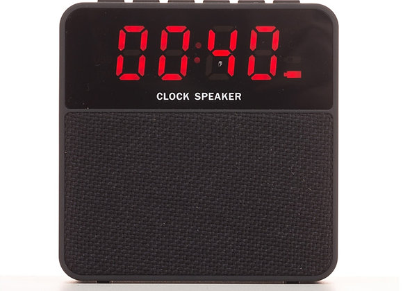 AF2071 Caixa de Som Bluetooth com Relógio Digital