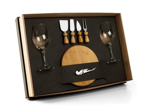 AF90003 Kit Queijo E Vinho