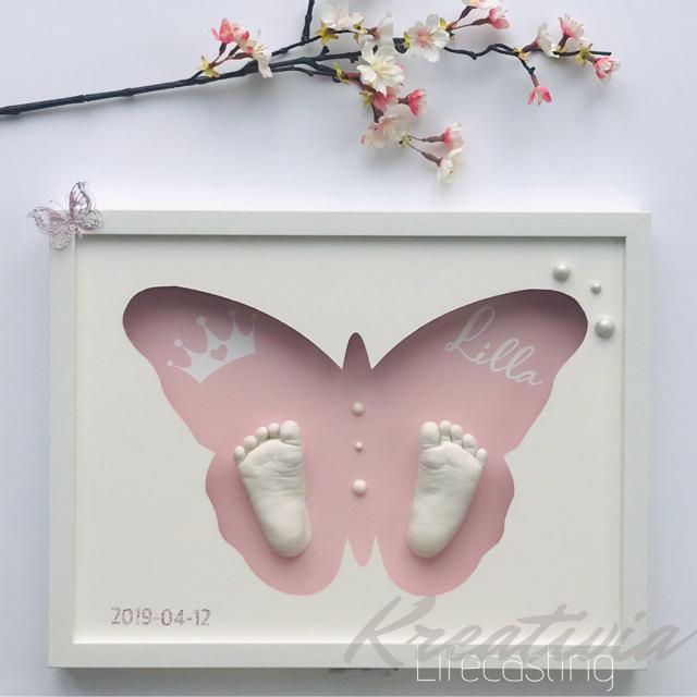 Bebistavla - fjäril