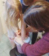 Mysig gjutning med syskonpar 😊_._._._#k
