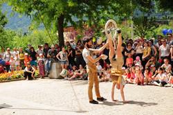 unicycle handstand