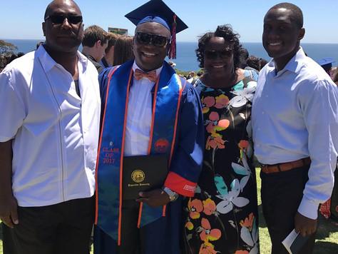 Graduated from Pepperdine University