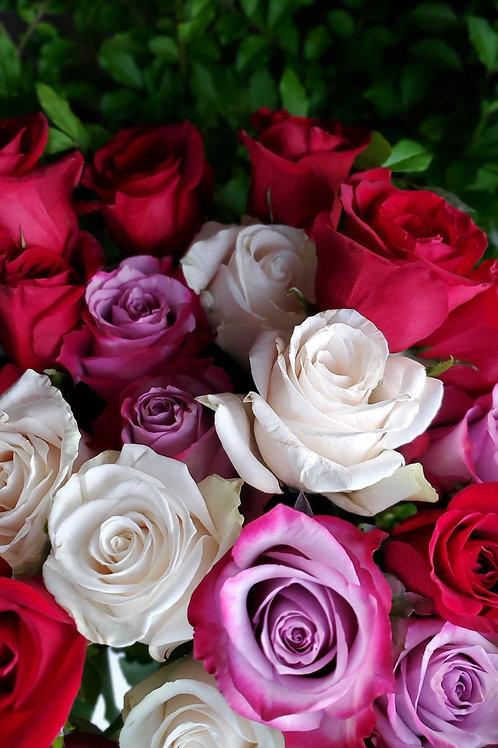 Lush & Fabulous Rose Arrangement