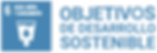 Logo Objetivos de Desarrollo Sostenible.