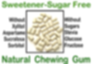 SSFree natural chewing gum